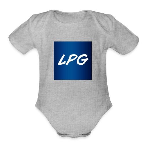 LiamPlaysGames SHOP - Organic Short Sleeve Baby Bodysuit