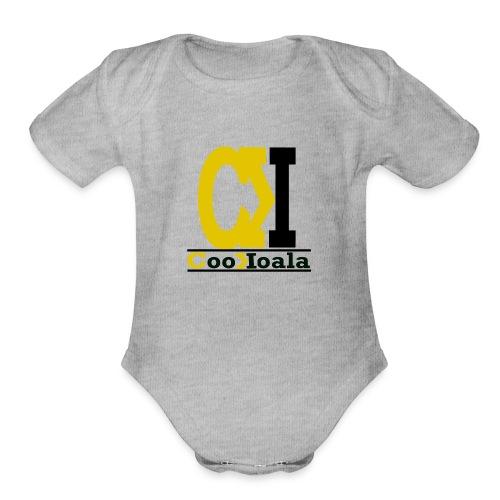 CooKoala Tee - Organic Short Sleeve Baby Bodysuit