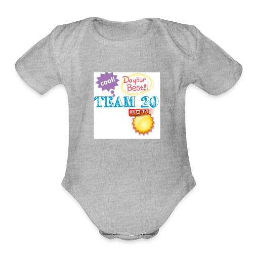 Team20 - Organic Short Sleeve Baby Bodysuit