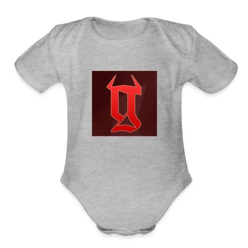 GRTs logo - Organic Short Sleeve Baby Bodysuit