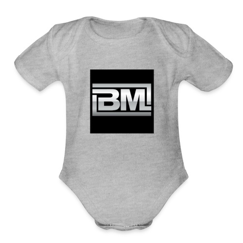 Team Homda - Organic Short Sleeve Baby Bodysuit