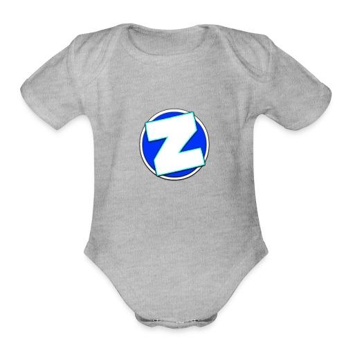 IMG 6534 - Organic Short Sleeve Baby Bodysuit
