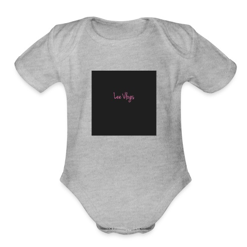 1 Lee - Organic Short Sleeve Baby Bodysuit