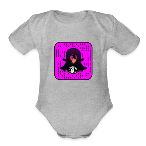 snapcode UZI - Organic Short Sleeve Baby Bodysuit
