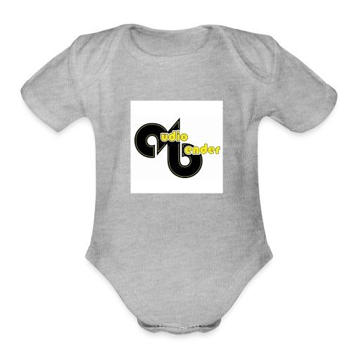 audio bender - Organic Short Sleeve Baby Bodysuit