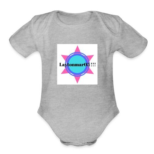IMG 4139 - Organic Short Sleeve Baby Bodysuit