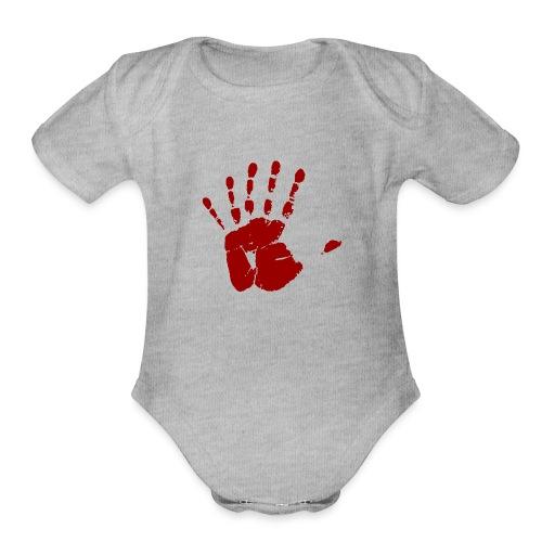 Six Fingers - Organic Short Sleeve Baby Bodysuit