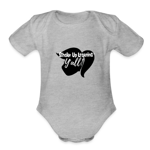 Copy of Y all 3 png - Organic Short Sleeve Baby Bodysuit