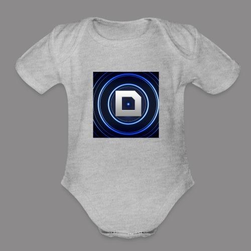 Drwiz123 gaming shirt shop - Organic Short Sleeve Baby Bodysuit