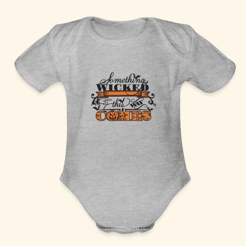 HALLOWEEN TEE - Organic Short Sleeve Baby Bodysuit