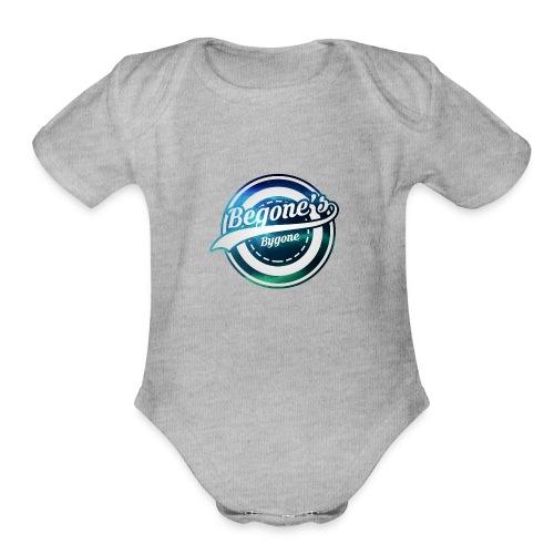 Begone's Bygone - Organic Short Sleeve Baby Bodysuit