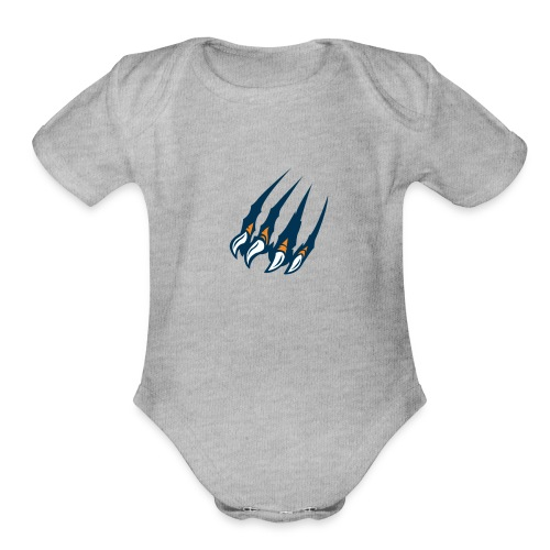 Ultra claws - Organic Short Sleeve Baby Bodysuit