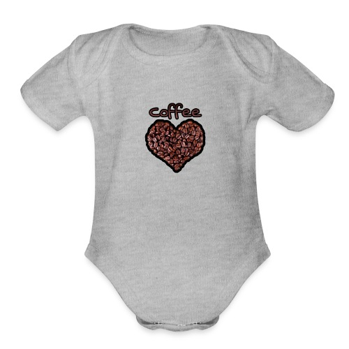 Coffee Lover - Organic Short Sleeve Baby Bodysuit