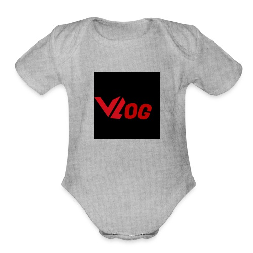 Vlogger edition part 3 - Organic Short Sleeve Baby Bodysuit