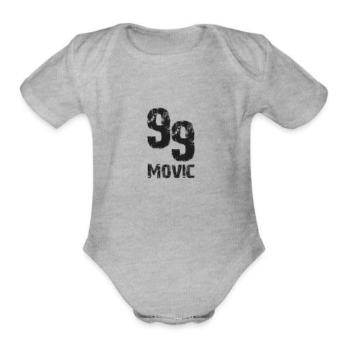 movic products - Organic Short Sleeve Baby Bodysuit