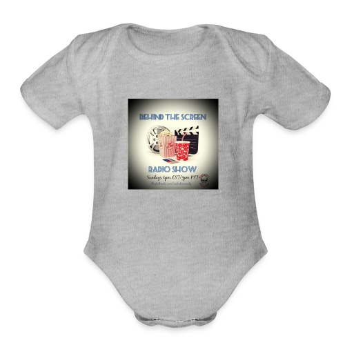 BTS - Organic Short Sleeve Baby Bodysuit