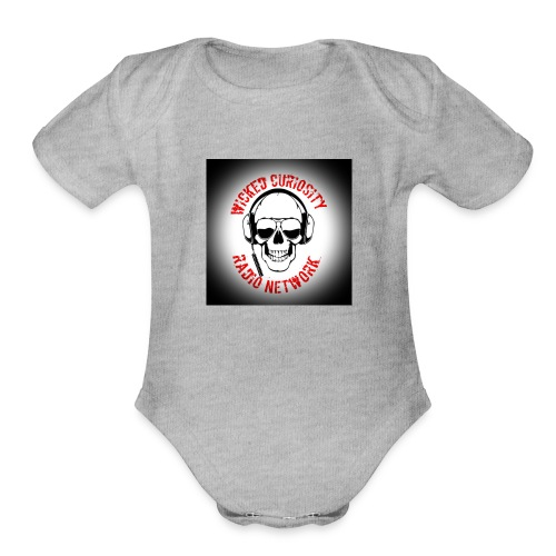 WCRN2 - Organic Short Sleeve Baby Bodysuit