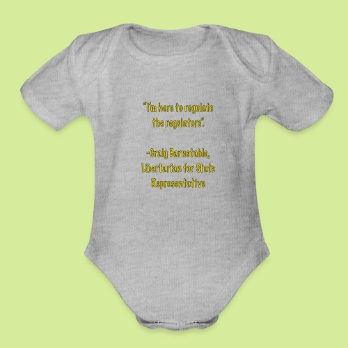 Slogan - Organic Short Sleeve Baby Bodysuit
