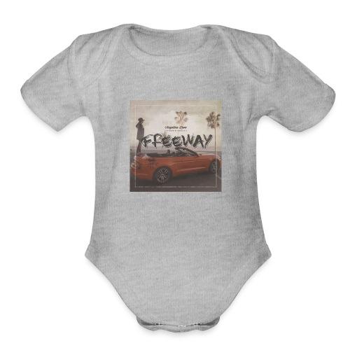 Angelina Lavo - Freeway - Organic Short Sleeve Baby Bodysuit