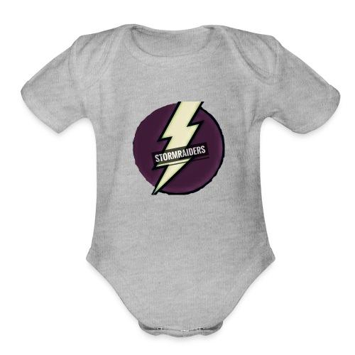 TheStormRaiderz Gear⚡ - Organic Short Sleeve Baby Bodysuit