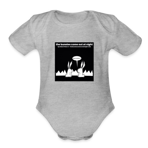 tbcoan Where the bitches at? - Organic Short Sleeve Baby Bodysuit