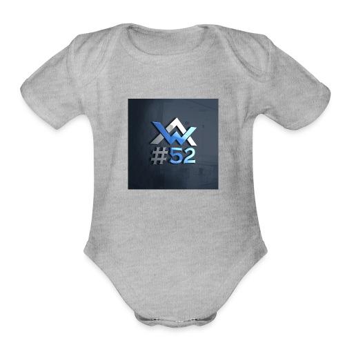 AW Logo - Organic Short Sleeve Baby Bodysuit