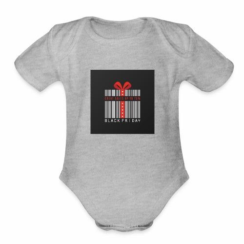 Black Friday/ Black Friday Deal/ Black Friday Deal - Organic Short Sleeve Baby Bodysuit