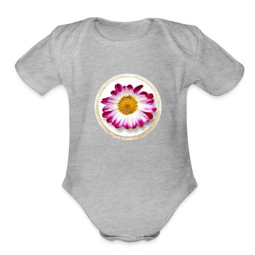 Beautiful Creation Design 1001 - Organic Short Sleeve Baby Bodysuit