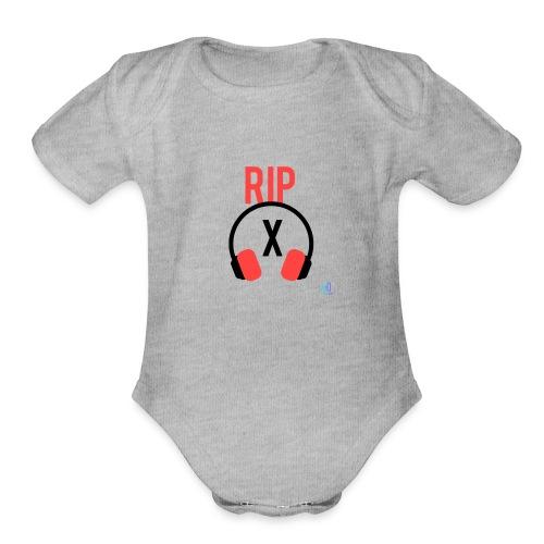 Rip - Organic Short Sleeve Baby Bodysuit