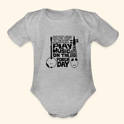 BANJO_RABAB - Organic Short Sleeve Baby Bodysuit
