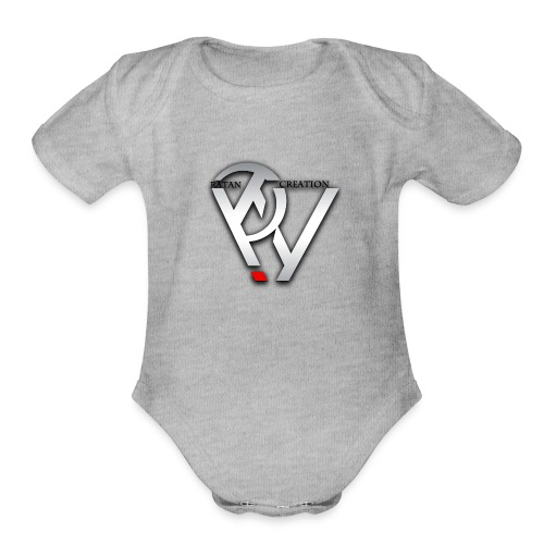 RNC Design Cool Product - Organic Short Sleeve Baby Bodysuit