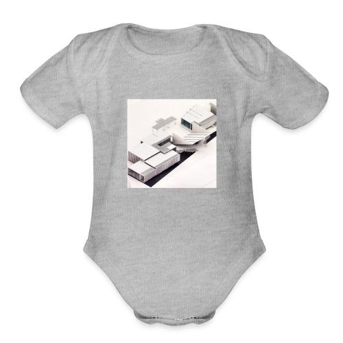 ARQUITECTURA MODERNA - Organic Short Sleeve Baby Bodysuit