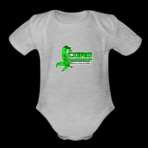 CGRG - Organic Short Sleeve Baby Bodysuit