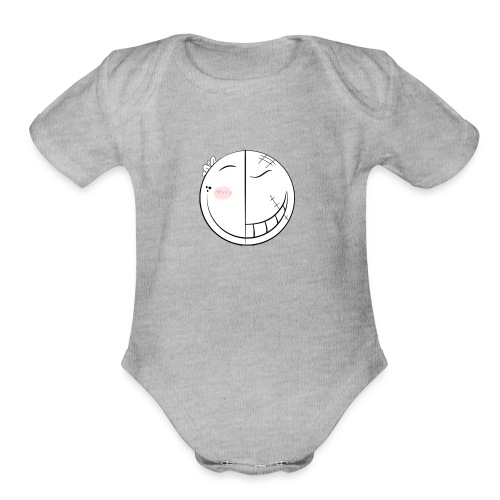 Alter Ego icon - Organic Short Sleeve Baby Bodysuit