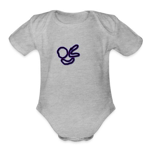 Meebo Icon - Organic Short Sleeve Baby Bodysuit