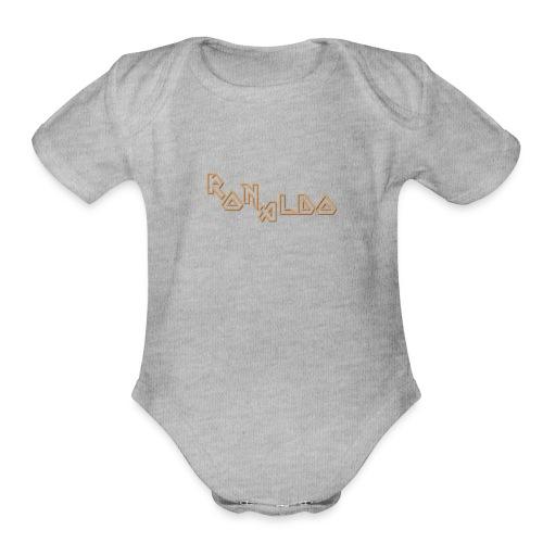 Ronaldo - Organic Short Sleeve Baby Bodysuit