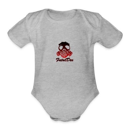 DEX Limited Edition - Organic Short Sleeve Baby Bodysuit