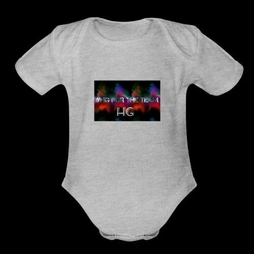 Logopit 1534289002185 - Organic Short Sleeve Baby Bodysuit