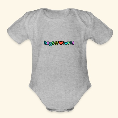 Love Email - Organic Short Sleeve Baby Bodysuit
