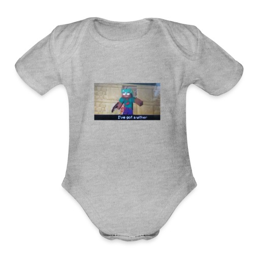 Black hatters - Organic Short Sleeve Baby Bodysuit