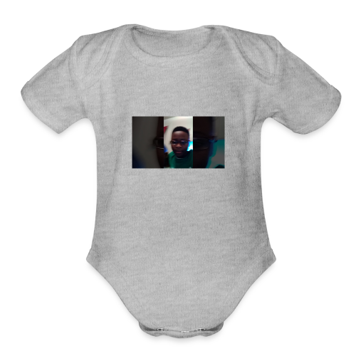 ME - Organic Short Sleeve Baby Bodysuit