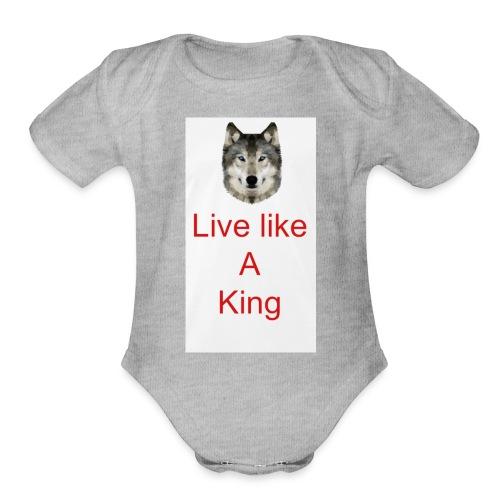 6EE52758 4074 4452 BF05 FCD02F511EF3 - Organic Short Sleeve Baby Bodysuit