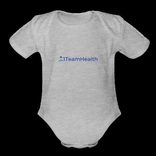 1TeamHealth Simple - Organic Short Sleeve Baby Bodysuit