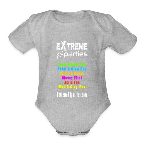 EFXP Branded Clothing - Organic Short Sleeve Baby Bodysuit