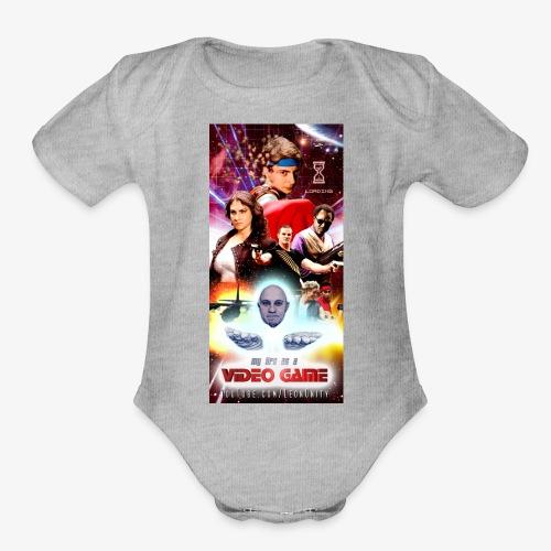 Phone Case Test png - Organic Short Sleeve Baby Bodysuit