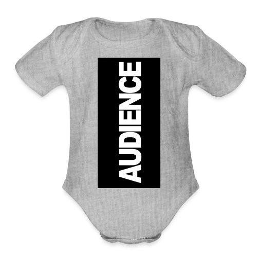 audenceblack5 - Organic Short Sleeve Baby Bodysuit