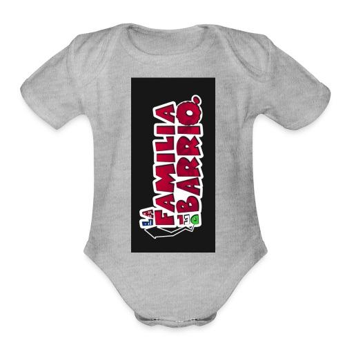 case2biphone5 - Organic Short Sleeve Baby Bodysuit