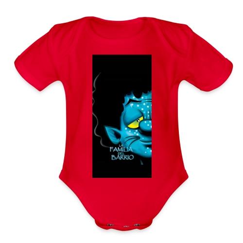 case4iphone5 - Organic Short Sleeve Baby Bodysuit