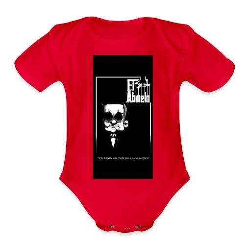 case5iphone5 - Organic Short Sleeve Baby Bodysuit