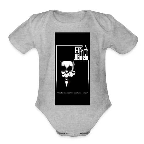 case5iphone5 - Organic Short Sleeve Baby Bodysuit